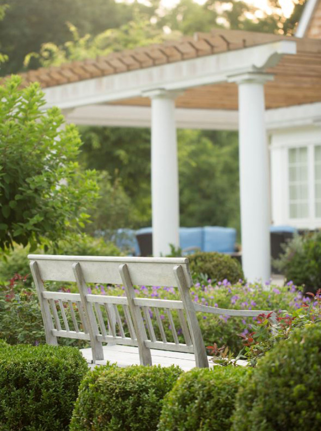 The LaurelRock Company - Residential Landscaping in CT - Green Farms - Garden Detail and Outdoor Living