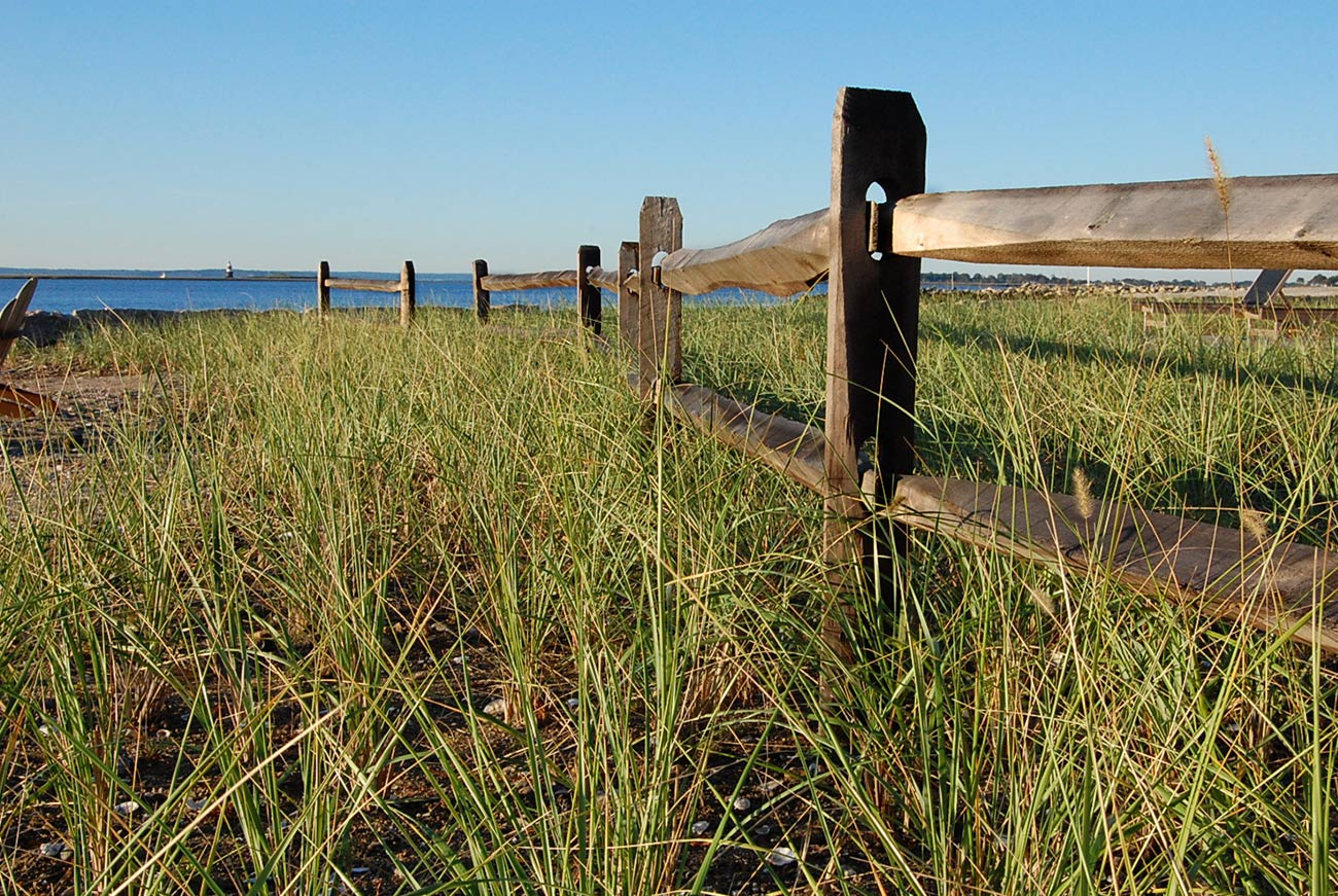 The LaurelRock Company - Residential Landscaping in CT - Bluff Point - Fences by the Shore
