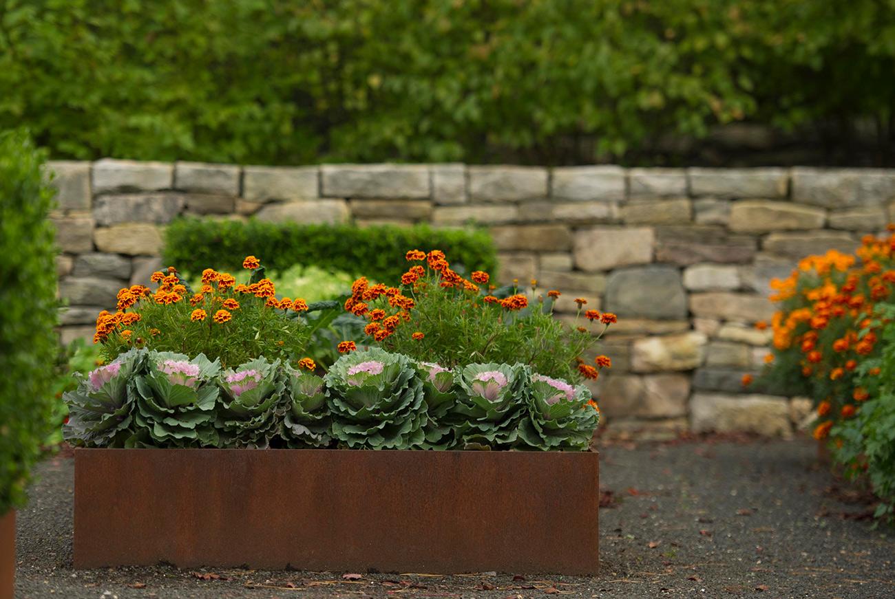 The LaurelRock Company - Residential Landscaping in Wilton CT - High Meadow Farm - Edible Garden