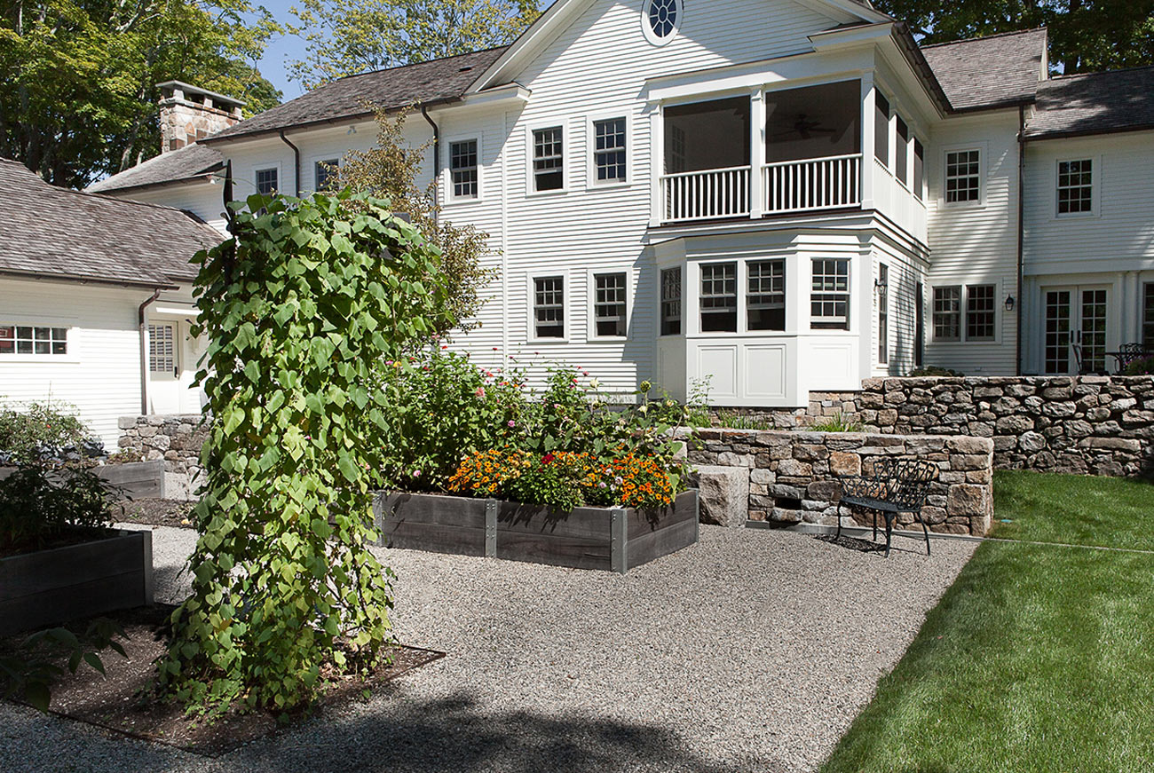 The LaurelRock Company - Residential Landscaping in Wilton CT - High Meadow Farm - Edible Gardens
